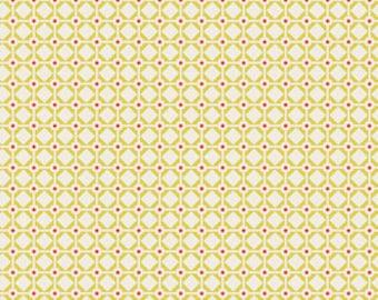 1 HALF YARD Garden Gate in Citron by Bonnie Christine, Art Gallery, Sweet as Honey fabrics