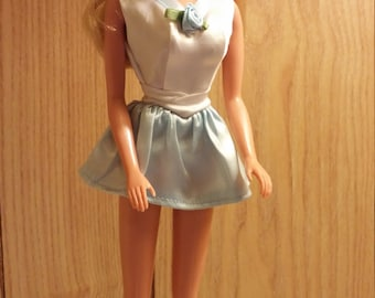 Mini dress for Barbie includes boots
