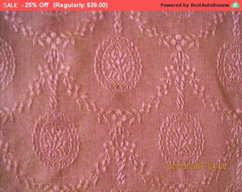 Surprise SALE - Antique French Damask Fabric Silk Pillow