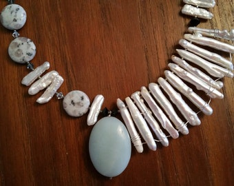 Sesame Jasper Necklace