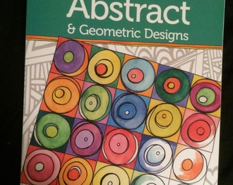 Zenspirations Abstract & Geometirc Designs, a coloring book by Joanne Fink