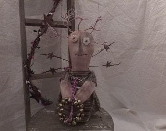 prim angel stump doll