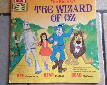 1978 The Story of the Wizard of Oz Children's Book by Disney