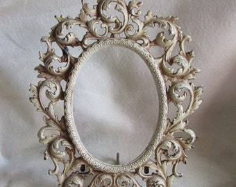 Antique Picture Frame with Original Paint
