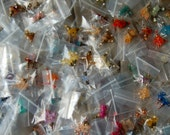 Ten Assorted Pairs of Lucite Flower Dangles - Inventory Sale!!