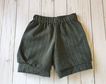 Baby Bloomer Shorts in Vintage Fabric