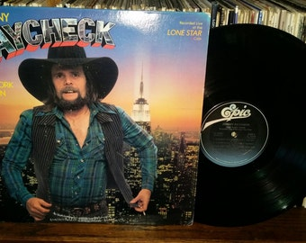 Johnny Paycheck New York Town Vintage Vinyl Record