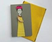 Frida Kahlo Moleskine Cahier Journal Frida Kahlo blank sketchbook