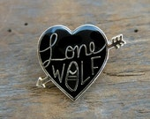 Lone Wolf Lapel Pin