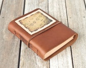 Musician's Leather Journal, Copper Sketchbook, Travel Diary