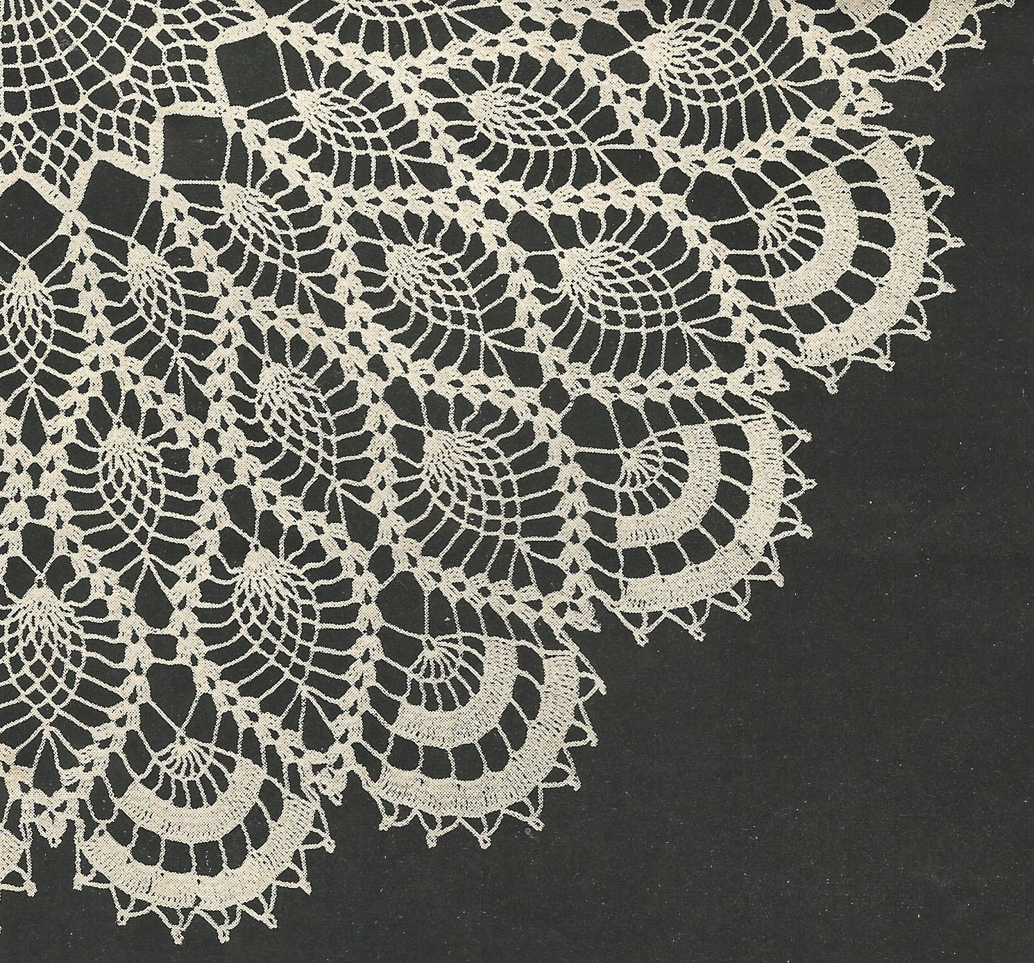 Aunt ellens favorite doily crochet pattern from a 1956 workbasket this is a digital file bankloansurffo Choice Image