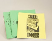 3 Blank Doodle Books to Amuse You or Stuff into Stockings