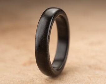Size 11.25 - Ebony Wood Ring No. 195