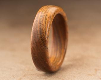 Size 7 - Guayacan Wood Ring No. 396