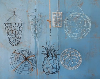 Instant Handmade Wire Basket Collection