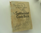 The Settlement Cook Book 1949 29th edition