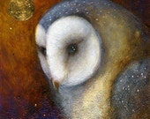SALE!!   Betwixt.   Limited edition giclee art print by Amanda Clark.