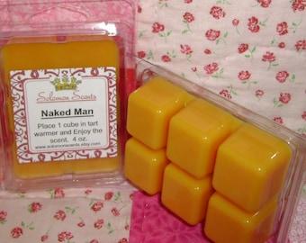Naked Man Wax Melt