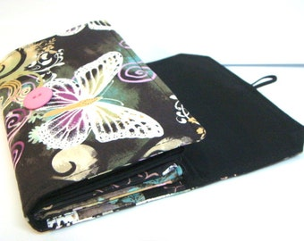 Cash Envelope Budget Wallet Dave Ramsey System Cash Wallet Systme / Zipper Envelopes - ButterFly Dreams
