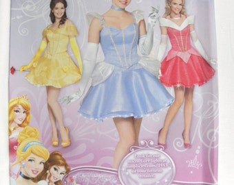Simplicity 1553 Misses' Disney Princess Costumes   new uncut size 6-12 2013