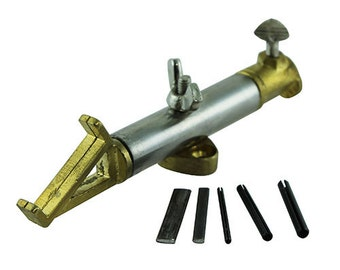 Bench Top Jump Ring Maker Tool With Round And Oval Mandrels