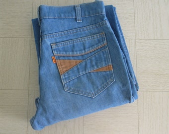 Vintage 70s Levis Jeans Orange Label - Vintage Levis 646 Bell Bottoms - Vintage 1970s Levis Jeans 31 Waist