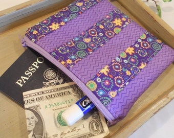SPECIAL of the DAY - Large Quilted Zipper Pouch