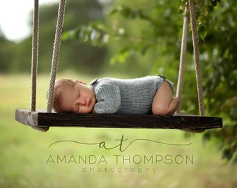 Newborn Knit Baby Romper, Long Sleeve Romper, Knit Photo Prop, Long Sleeve Knit Onsie, Baby Romper for Girls or Boys