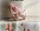 Tiny Dancer Ballet Slippers Tutorial for Bratz & Moxie Dolls