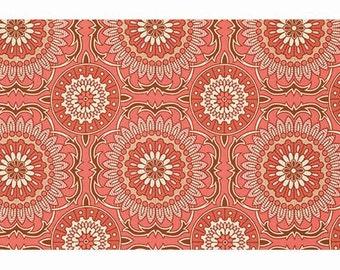 Rowan Fabrics Joel Dewberry PWJD075 - Bungalow - Doily - Coral BTY