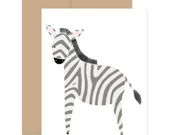 Tiny Zebra Card