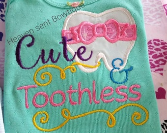 Baby girl ruffled bodysuit, Embroidered girls shirt, Baby girl outfit.