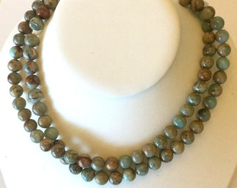 Beautiful Impression Jasper 10mm Beads