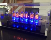 Back in Black - Beautiful NL840 Nixie Tube Clock with GPS Receiver and Blue LED lighting