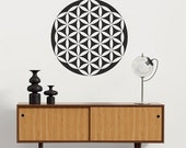 Mandala Stencil Flower of Life - Mandala Stencils for DIY Home Improvement - Better than Decals - Perfect for Walls, Floors, or Furniture
