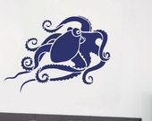 Octopus Wall Art Stencil - Easy DIY Wall Décor - Reusable Stencils for Walls - Better than Decals