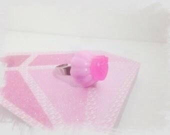 Mousse jelly ring pink kawaii harajuku fairy kei