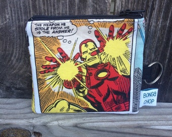 Ironman Mini Wallet with ID Holder