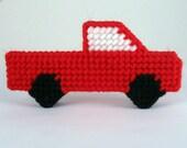 Freestanding Pickup Truck Christmas Ornament