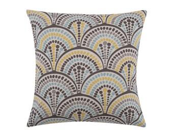YELLOW Pillow Cover.Decorator Pillow Cover.Home Decor.Large Print. HAVANA COLLINS.Cushions. Cushion.Pillow. Premier Prints
