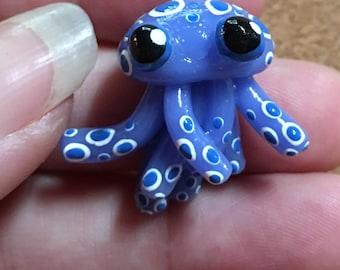 Dark blue jellyfish