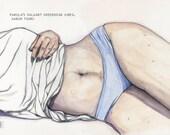 Pakola's Walmart Underwear Vibes - Watercolor & Illustration 10in x 14in