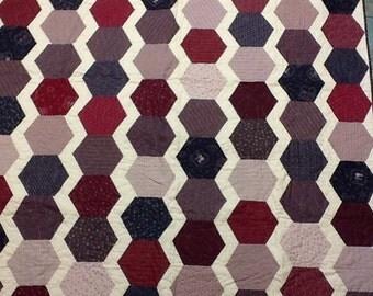 Hexagons Quilt