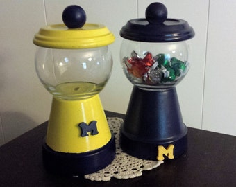 Michigan Candy and Snack Dish