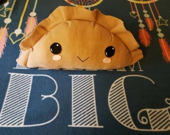Potsticker dumpling pillow plushie