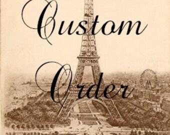 CUSOM ORDER For Susan - Vintage Door Knob Inspiration Holders