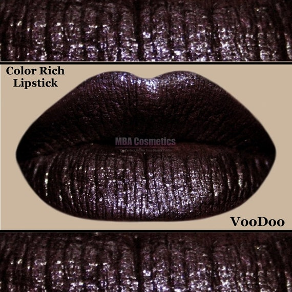 Burgundy/Black Color Rich Lipstick-VooDoo