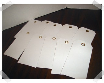Scrapbooking White Paper Tags/2 Assortment to Choose From* /Craft Supplies*