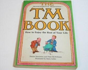 The TM Book, Transcendental Meditation, Vintage Book