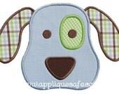 731 Puppy Face 3 Machine Embroidery Design